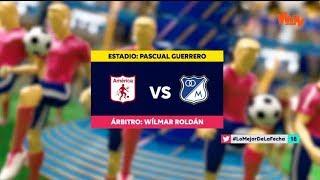 América Vs Millonarios | Resumen Y Mejores Jugadas | Liga Aguila 2019-1 | Fecha 17
