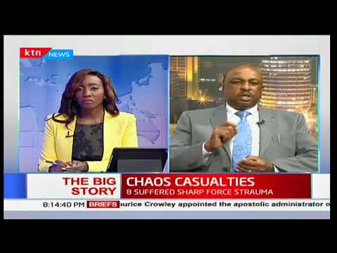 Government's spokesman, Eric Kiraithe on postmortem results of casualties
