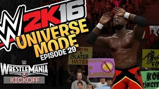 WWE 2K16 Universe Mode: WrestleMania PPV