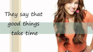 One in a million - Miley Cyrus/ Hannah Montana Lyrics