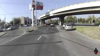 Car accident in Budapest - 2015.10.24.