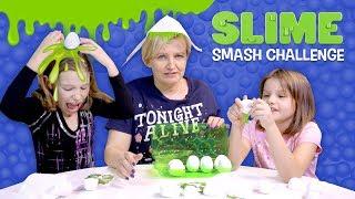 Kto trafi na jajko ze slimem? - Slime Smash Challenge