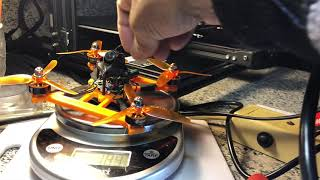 1st 4in 6s! FPV Racing Quadcopter Made of PLA Plus 3D Printed plastic Frame SOVOL SV01