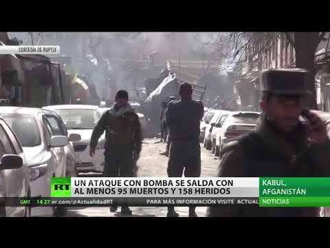 Un centenar de muertos y más de doscientos heridos en un atentado en Kabul