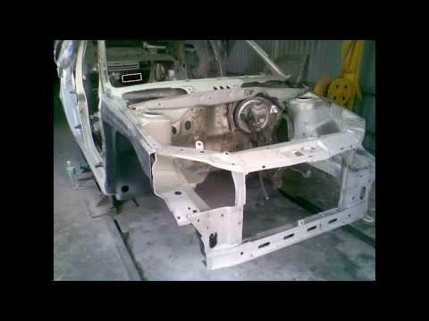 Калина ремонт кузова 17