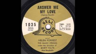 Helen Forrest - Answer Me My Love