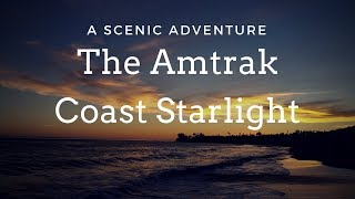 Amtrak Coast Starlight: Los Angeles to Seattle scenery, dining, #roomette & sleeper car train.