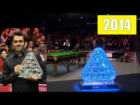 Ronnie O'Sullivan. Snooker Masters 2014! The way to the seven Masters titles