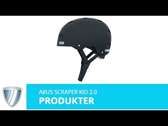 Видео Шлем Abus Scraper 3.0 Kid Shiny Blue