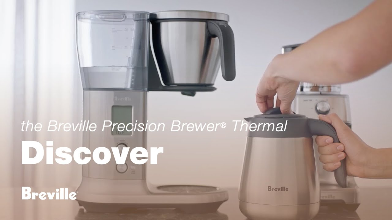 the Breville Precision Brewer®