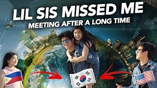 MEETING LIL SIS AFTER A LONG TIME | Ranz and Niana