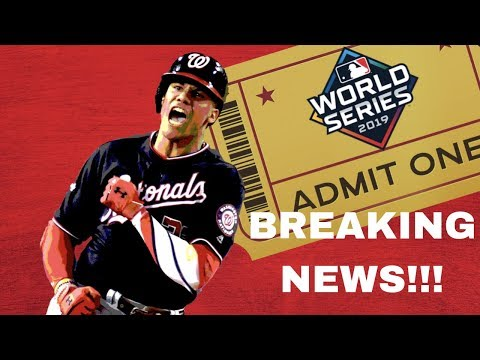 BREAKING NEWS   Nationals Sweep Cardinals, Advance to World Series!