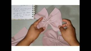 BABY HEADBANDS  Tutorial Con Tela Bullet (bullet Fabric Headband Tutorial)