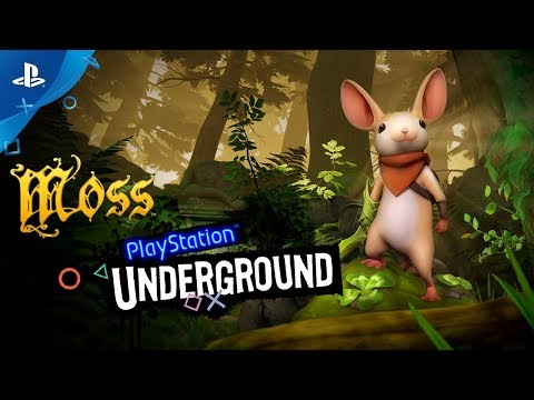 14 minutes de gameplay par PlayStation Underground de Moss