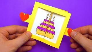 3 COOL DIY 3D Pop Up Greeting Card For Birthday| Easy 3D Cards DIY | DIY Paper Crafts Tutorial