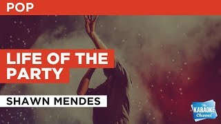 Life Of The Party in the Style of 'Shawn Mendes' with lyrics (no lead vocal)