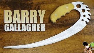 Как сделать Barry Gallagher из дерева?