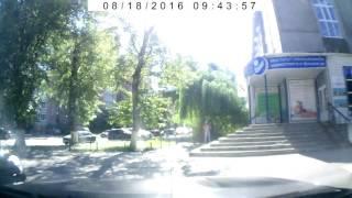 Жестокое нападение в самом центре Воронежа (18.08.2016)