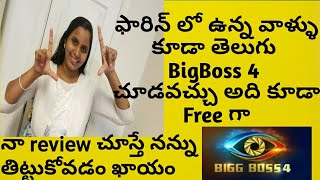 How to watch BIGG BOSS 4 TELUGU in USA | My Review on BIGG BOSS 4  | Triangle Love Story/USA Vlogs