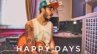Blink 182   Happy Days (Guitar Cover)