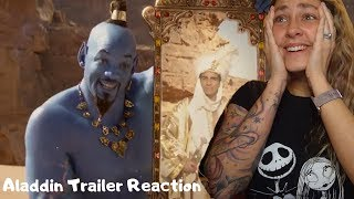 Disney's Aladdin Official Trailer REACTION and REVIEW!