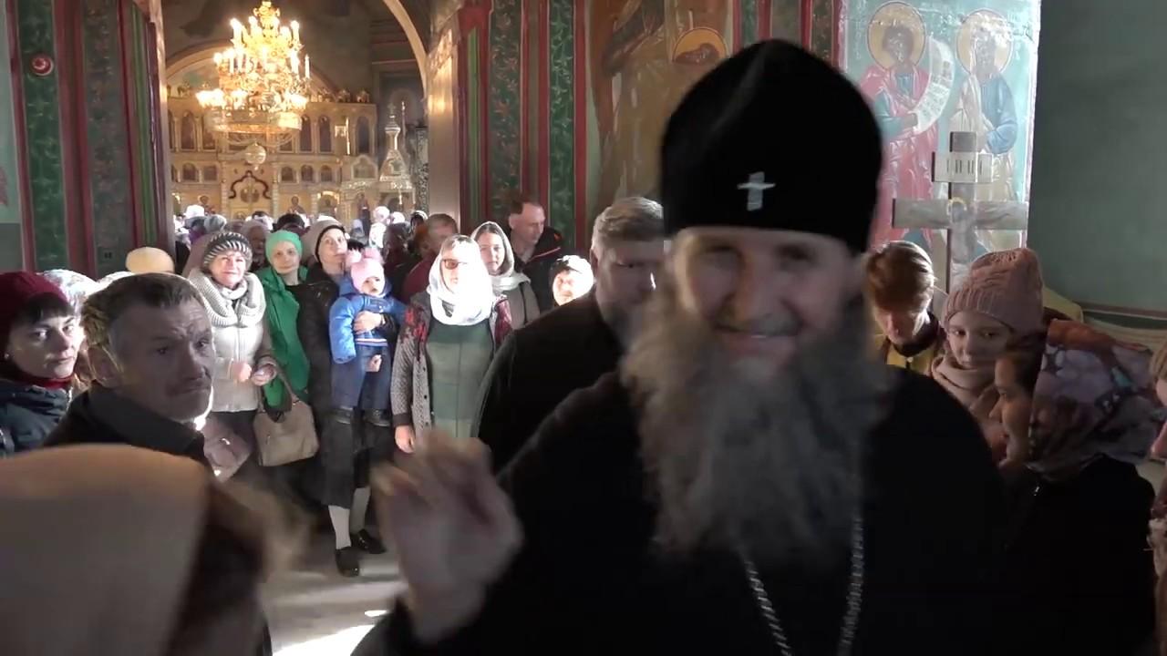 Литургия в соборе Александра Невского, Курган