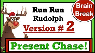 Run Rudolph Present  Chase Version #2 (Christmas Fitness Game)