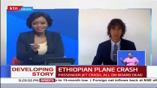 Aviation analyst Alex Macheras speaks on the Ethiopian Airlines crash