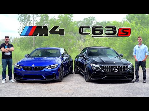 2020 BMW M4 vs Mercedes-AMG C63 S // Battle Of Brutes