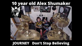 """10 year old Alex Shumaker Journey """"Don't Stop Believing"""""""