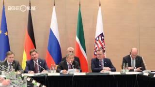 """Минниханов: """"Татарстан - уникальная площадка, где есть все условия для развития бизнеса"""""""