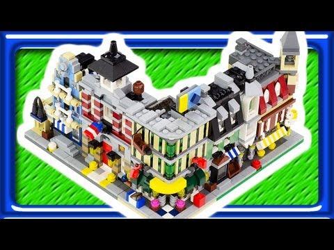 Vidéo LEGO Creator 10230 : Mini modulaires