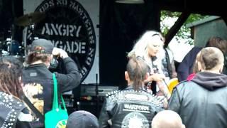 Video Angry Brigade, Punx Picnic, Prague, 19-20.05.2017