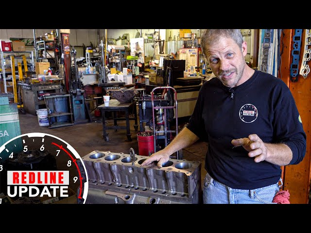 Highs and lows: The Redline Rebuild Chevrolet 216 heads to the machine shop