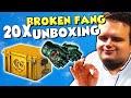 TrilluXe HEBELT 20x BROKEN FANG Kisten auf! 🥳 - OPERATION BROKEN FANG Case Unboxing