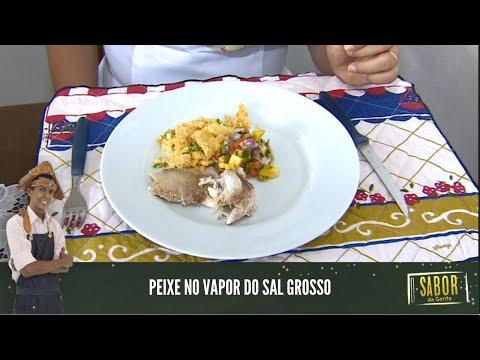 [Sabor da Gente exibido em 19/01/2021] Peixe no Vapor de Sal Grosso com o chef Rivandro França