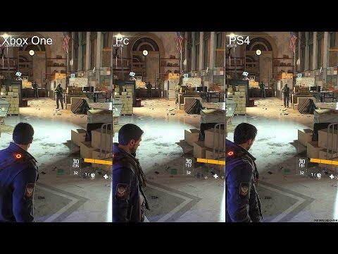 The Division Beta Pc Vs PS4 Vs Xbox One Graphics Comparison