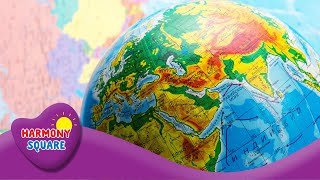 Maps & Globes - Let's Talk Geography on the Learning Videos Channel