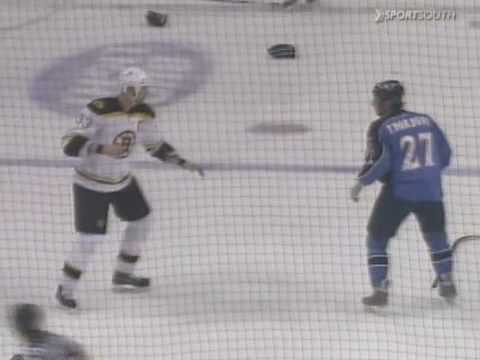 Chris Thorburn vs. Zdeno Chara