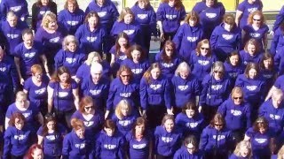 preview picture of video 'Popchoir at South Bank Centre London Monday April 6 2015'