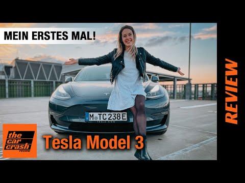 Tesla Model 3 (2021) Mein ERSTES Mal! 🐣⚡️ Fahrbericht | Review | Test | Reichweite | Long Range AWD