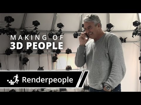 Renderpeople humans