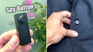 Spy Button Camera Recorder