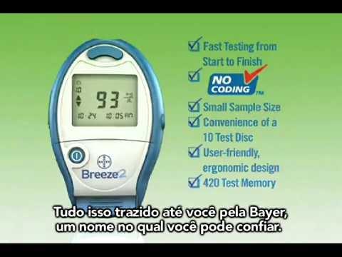 Um sinal de diabetes, pressão