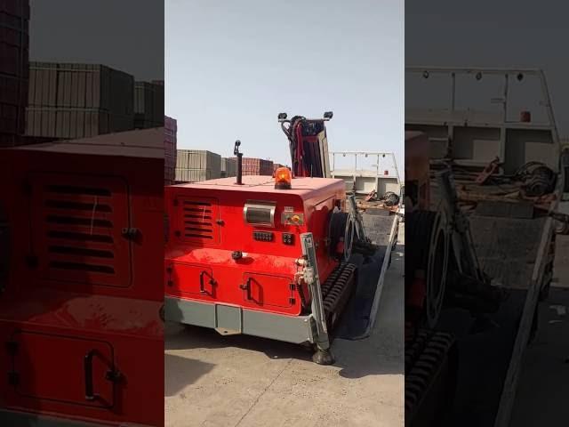 loading of hydraulic shot ...
