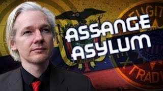 Julian Assange Granted Asylum By Ecuador thumbnail