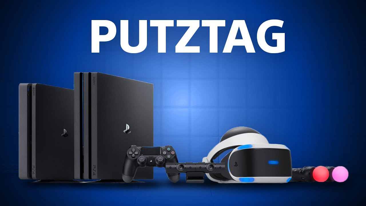 PS4-Putztag: So läuft eure PlayStation wieder wie am ersten Tag