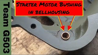 Willys MB Starter Bushing And Plug Installation G503TV