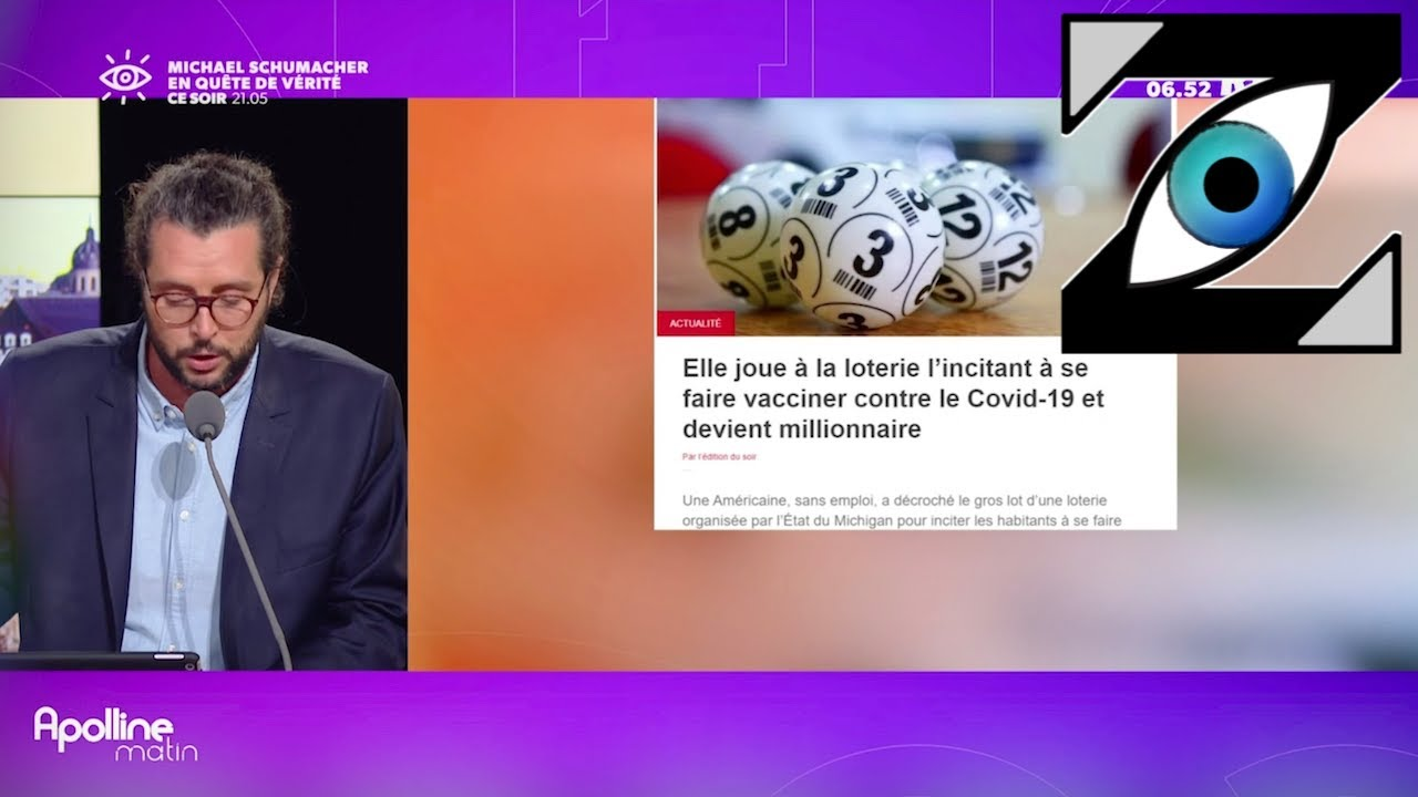 [Zap Actu] Millionnaire suite à la loterie des vaccinés, Hommages à Belmondo (07/09/21)