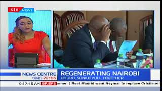 President Uhuru chairs a meeting on regenerating Nairobi aimed at improving livelihoods